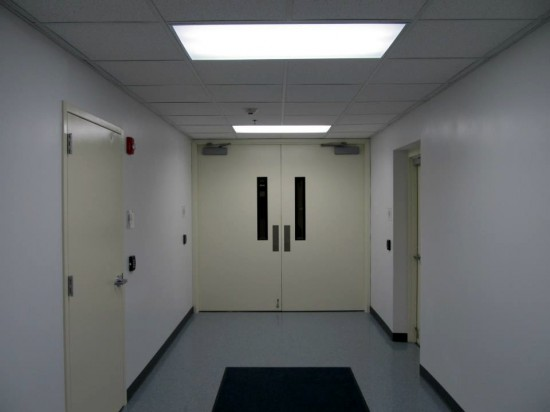 Hallway to Server Rooms