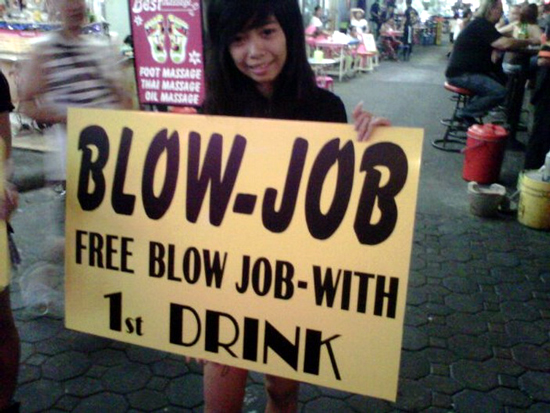 Blow Job Bar